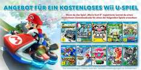 Kaufe Mario Kart 8 und bekomme eins von 10 Wii U Spielen gratis