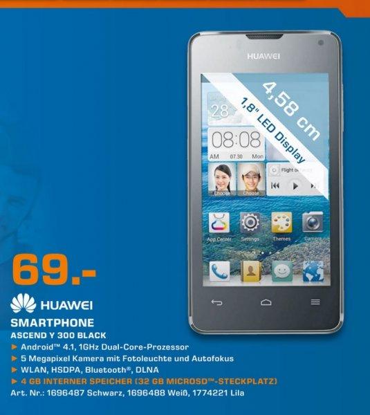 Huawei Ascend Y300 Black 69€ Lokal [Saturn Baunatal]