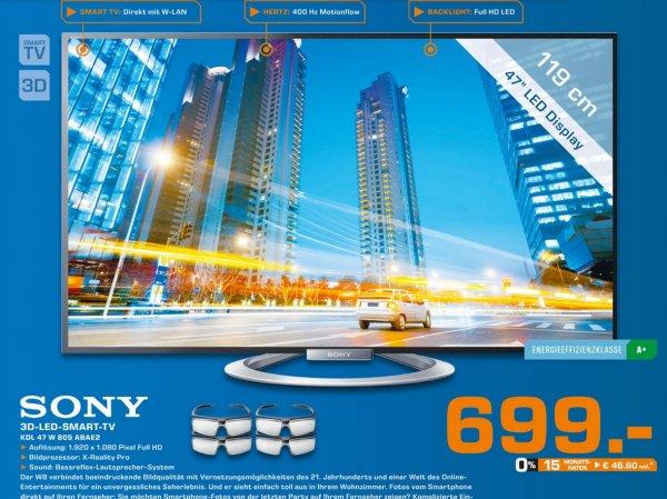 Sony KDL-47W805A für 699€,BOSE Soundlink Mini  für 149€ Lokal [Saturn Sankt Augustin,Troisdorf,Siegburg]