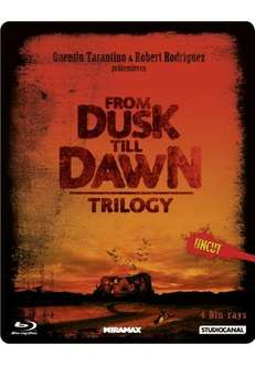 From Dusk till Dawn Trilogy Blu Ray uncut Steelbook 25,71€  bücher.de