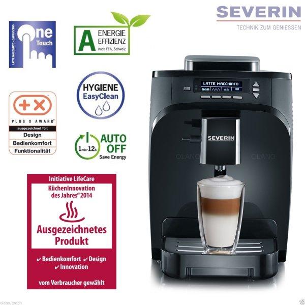 Severin One Touch Kaffee Vollautomat KV 8051 für 269€ @Ebay Wow