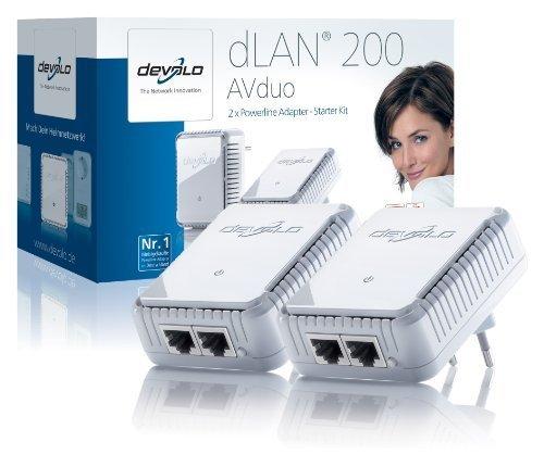 "Devolo™ - Powerline-Adapter ""dLAN 200 AVduo Starter Kit"" für €29,99 [@Redcoon.de]"