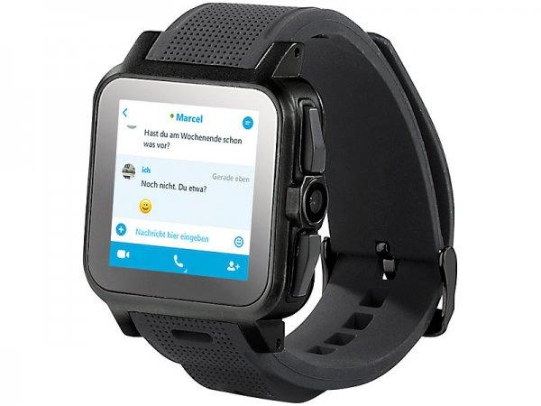 Smartwatch AW 414.Go mit Android 4, Bluetooth, WiFi, Cam für 149,90€ zzgl. Versandkosten