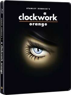 Uhrwerk Orange Limited Steelbook Edition [Blu-Ray]