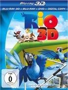 Rio - 3D Blu-Ray + Blu-Ray + DVD bei cede.de