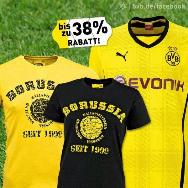 BVB-Trikot plus gratis Spielerflock, Finalflock und T-Shirt ab 44,95