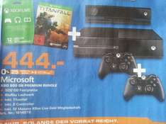 Lokal HH? Saturn Xbox One Titanfall Bundle + 2.ter Controller und 12 Monate Xbox Live Gold