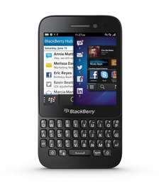 BlackBerry Q5 Smartphone (7,84 cm (3.1 Zoll) Display, QWERTZ-Tastatur -- Amazon Warehouse Deal