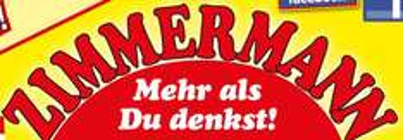 [Zimmermann] Toblerone 0,77€,Milka 0,55€,Adidas Deospray 1,44€,Verbandkasten 4,99€ und mehr
