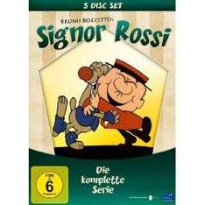 [Aktion beendet, Preis angehoben] Signor Rossi - Die komplette Serie (3 DVD Box Set) 6,99 Euro plus Versand