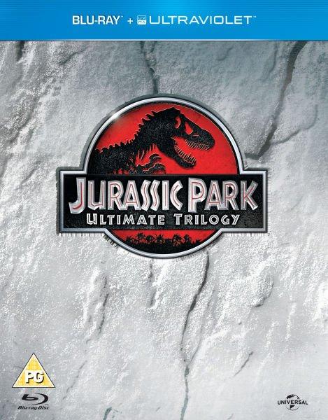 [Zavvi.nl u. Zavvi.es] Jurassic Park Trilogy (+ Ultraviolet Copy) für 9,39 €