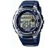 [Amazon] Funkuhr Casio Wave Ceptor Digital Quarz WV-200E-2AVEF für 34,17 EUR statt 58,80 (-42%)