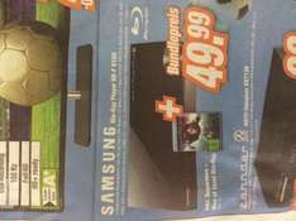 Lokal Expert - Samsung BD 5100 inkl. Man of Steel BluRay für 49,99