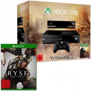 Xbox One mit Ryse (D1 Edition) und Titanfall bei Redcoon.de