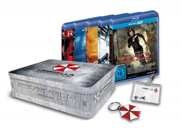 [BLU-RAY] Resident Evil 1 - 5 Collectors Box (Teil 4 und 5 in 3D) für 49,00 EUR / Fast and Furious 1 - 6 für 25,00 EUR @ MediaMarkt.de
