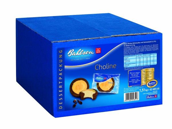 Amazon: Bahlsen Choline, 1er Pack (1 x 1.51 kg) für nur 8,99 € (Amazon Prime) sonst + 3 € Versand
