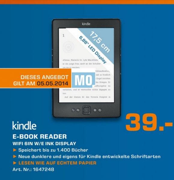 KINDLE eReader WiFi 6 Zoll für EUR 39,00€ Lokal Tagesangebot [Saturn Gelsenkirchen]