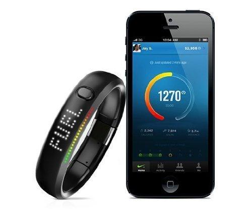 Nike+ Fuelband (1st Gen) Schwarz (XL) für 66€ @Amazon.com
