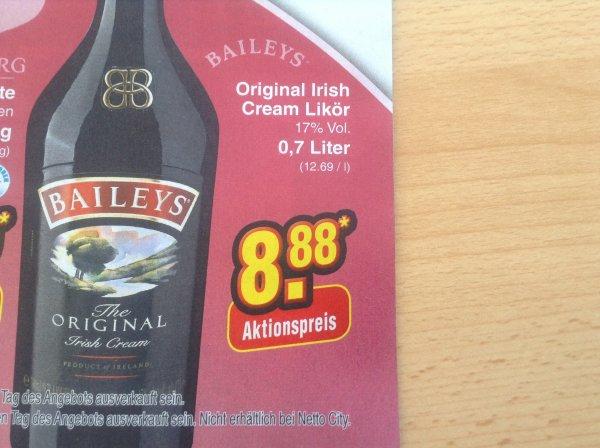 [LOKAL?] Baileys Original im Netto  (ohne Hund )