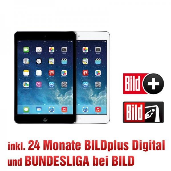 iPad Mini 16GB Wifi für 311,76€ (oder 12,90€/Monat)  oder iPad Air für 479,76 und dazu 24 Monate BILDplus Premium Bundesliga gratis @BildShop