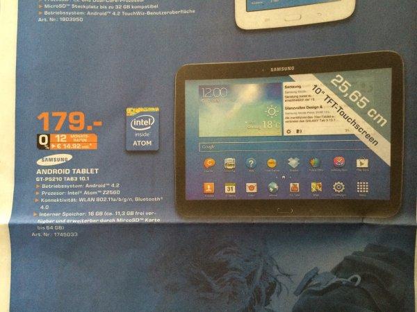 [Lokal Bremen] Samsung Galaxy Tab 3 10.1