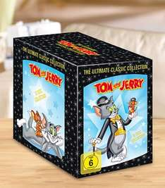 "KAUFLAND: Tom & Jerry ""The Complete Classic Collection"" 12 DVDs"