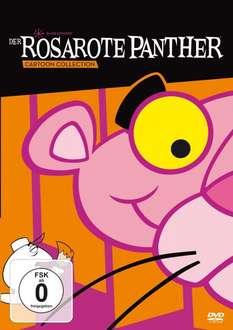 [Amazon] Der rosarote Panther Cartoon Collection 4 DVDs für 9,97€ + 3,00€ Versand
