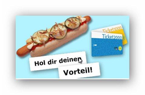 Kostenloser Hot Dog bei Ikea Duisburg durch vorzeigen eines tagesaktuellen DVG-Tickets