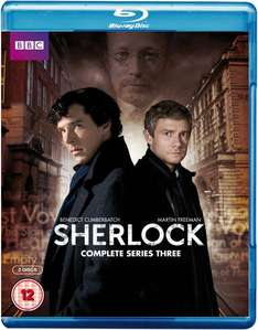 [Blu-ray-O-Ton]  Sherlock Season 1-3 Deals @ Zavvi