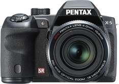 Pentax X-5 All-in-One Digitalkamera (16 Megapixel, 26-fach opt. Zoom, 7,6 cm (3 Zoll) Display, Full HD) für 168,99€ @Null.de