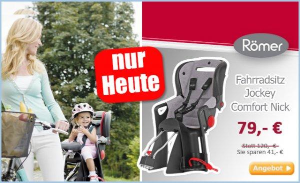 RÖMER Fahrradsitz Jockey Comfort Nick 69,00 EUR inkl. Versand @ baby-markt.de