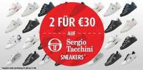 MandMdirect.de 2 paar Sergio Tacchini Sneaker (weiß /schwarz) 31,99 €inkl. Porto inkl. qipu