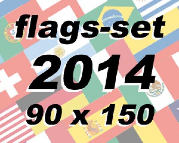 Flaggenkette zur Fußball WM 2014 für schlappe 13,90€