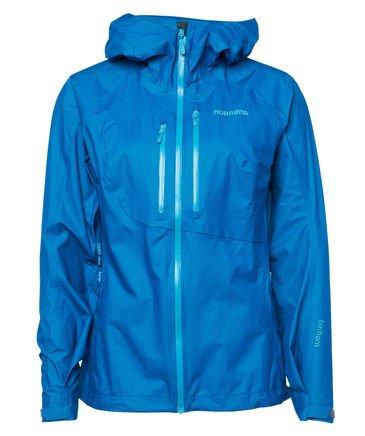 Trekking-/ Bergsportjacke Norröna in bambogreen oder blau