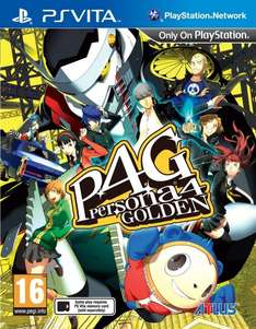 Persona 4 Golden PS VITA @ amazon.co.uk