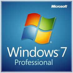 Windows 7 Professional 32/64Bit (Datenträger zum Download / Lizenz per Post) für 27EUR via Preisvorschlag