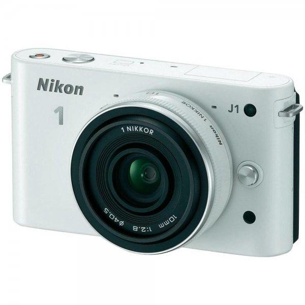 Nikon 1 J1 Kit mit 10-30mm und Lightroom 5 weiß/rot ebay.com inkl. Versand & Steuer