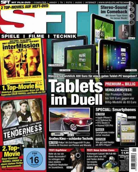 SFT Spiele Filme Technik Magazin, Halbjahres Abo für rechnerische 4.5 €!