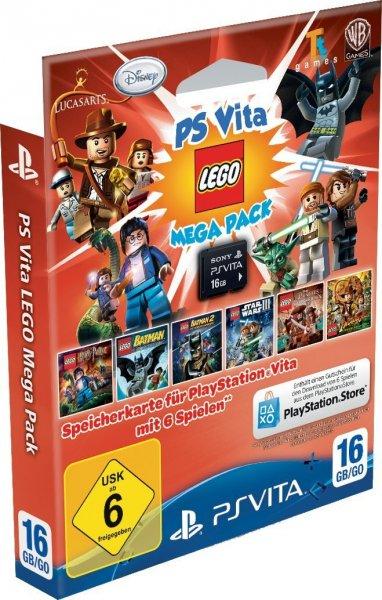 PS Vita Speicherkarte 16GB inklusive Lego Mega Pack für 33,36 @Amazon.es