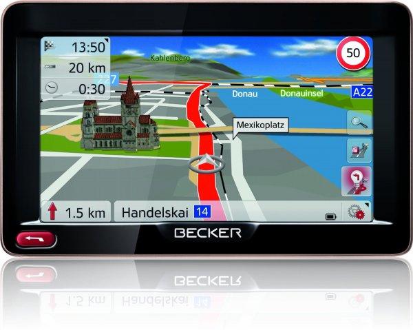 """Becker Ready 50 EU 20 LMU (5"""" Navigationsgerät mit Lifetime Map Update) bei expert 111,-€"""