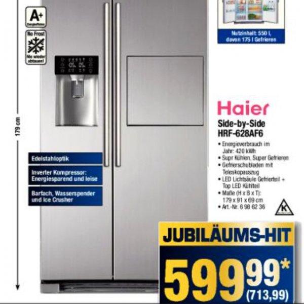 Haier Side-by-Side HRF-628AF6 Kühlschrank METRO 713,99€ inkl. MwSt
