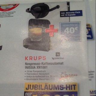 Nespresso Krups XN1001 - für effektiv ca. 20€