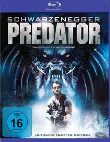 [Blu-ray] Predator (Ultimate Hunter Edition) (Wie neu) für 4,72 € bei Prime- oder Hermes-Versand @Amazon WHD