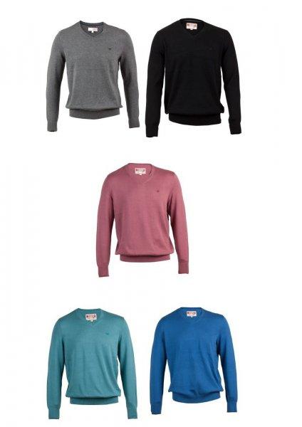 2 für 1 MUSTANG SOLID Pullover zwei Pullover zum Preis von einem