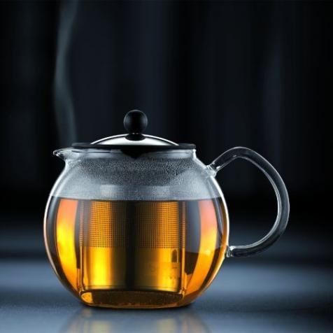 Sowohl beruhigend, als auch anregend:  Bodum 1801-16 Assam Teebereiter