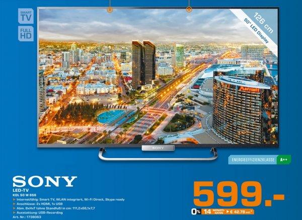 Sony KDL-50W656 für 599€,Grundig 55 VLE 988 für 666€ Lokal [Saturn Leverkusen]