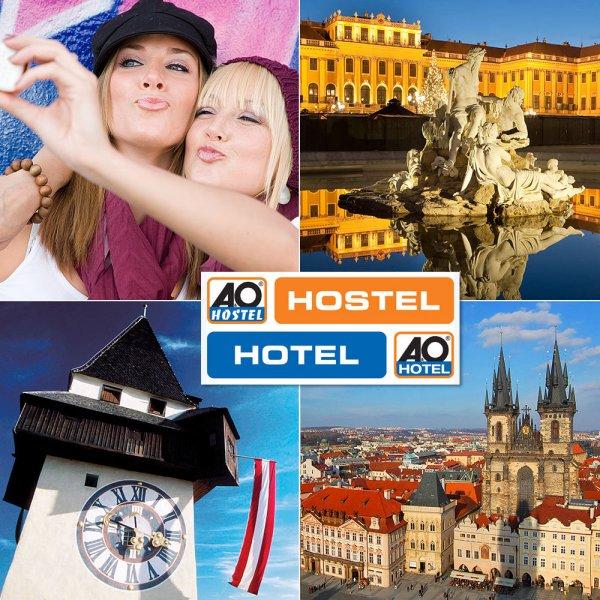 A&O TO GO Orange (Hostel) International - 2ÜN - 1P - WIEN, PRAG, GRAZ zu 9 EUR @eBay