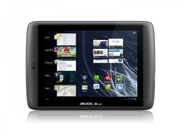 """ARCHOS 80 G9 Tablet 20.3 cm 8"""" Multitouch Display Multicore-CPU 8GB Android 4 GPS refurbished (vom Hersteller Generalüberholt) @BWARE ebay 48,90 - kostenloser Versand"""