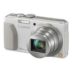 Panasonic DMC-TZ40 Digitalkamera (18 MP, 20x opt. Zoom, Full-HD Filme, GPS, Wi-Fi, NFC) weiß für 197,29€