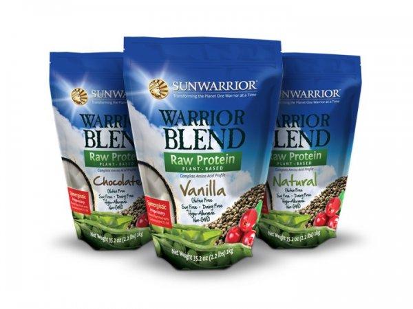 SunWarrior Blend oder Classic Raw Vegan Protein für ~ 27,27€!